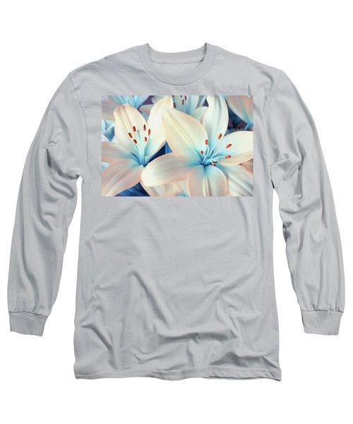 Charming Elegance Long Sleeve T-Shirt by Iryna Goodall