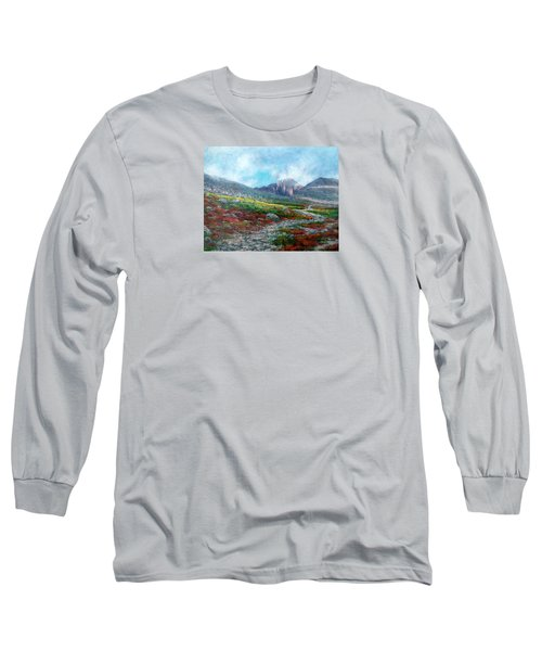 Chasm Lake Trail Long Sleeve T-Shirt by Jill Musser
