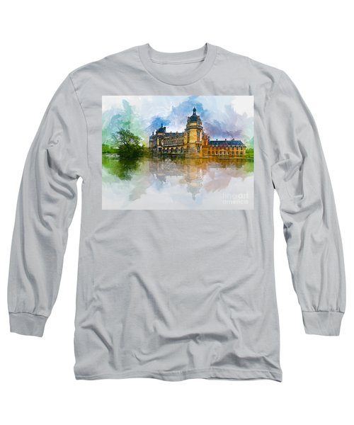 Chateau De Chantilly Long Sleeve T-Shirt