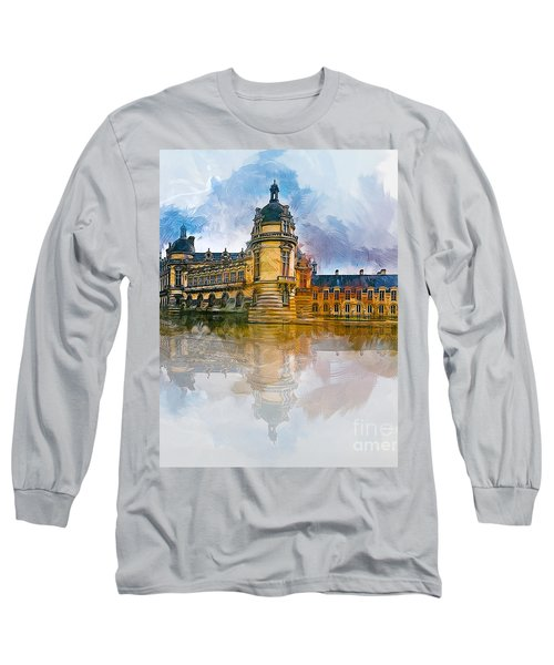 Chateau De Chantilly Long Sleeve T-Shirt