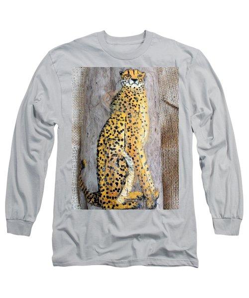 Cheetah Long Sleeve T-Shirt by Ann Michelle Swadener