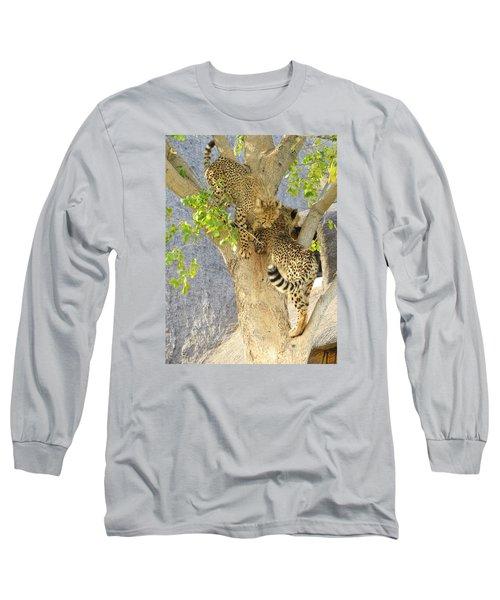 Cheetah Traffic Jam Long Sleeve T-Shirt