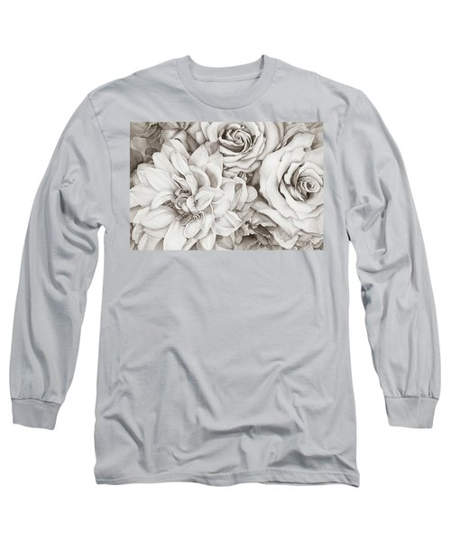 Chelsea's Bouquet - Neutral Long Sleeve T-Shirt