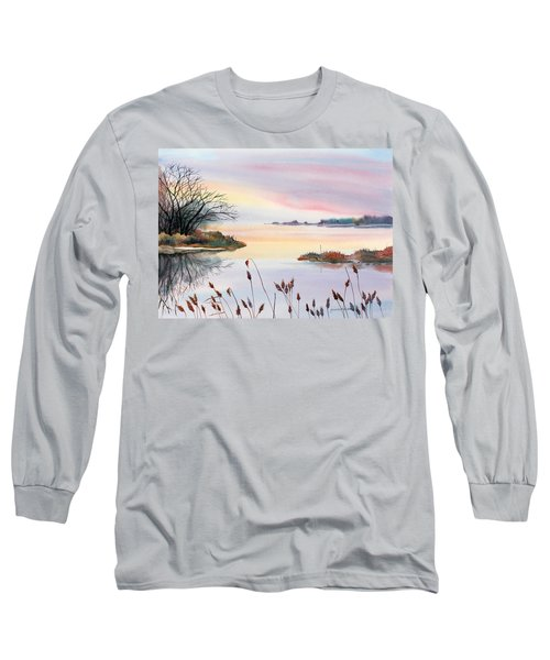 Chesapeake Bay Sunset Long Sleeve T-Shirt
