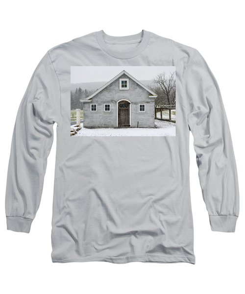 Chester County In The Snow Long Sleeve T-Shirt