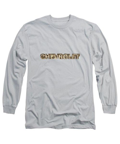 Chevrolet Chrome Emblem Long Sleeve T-Shirt