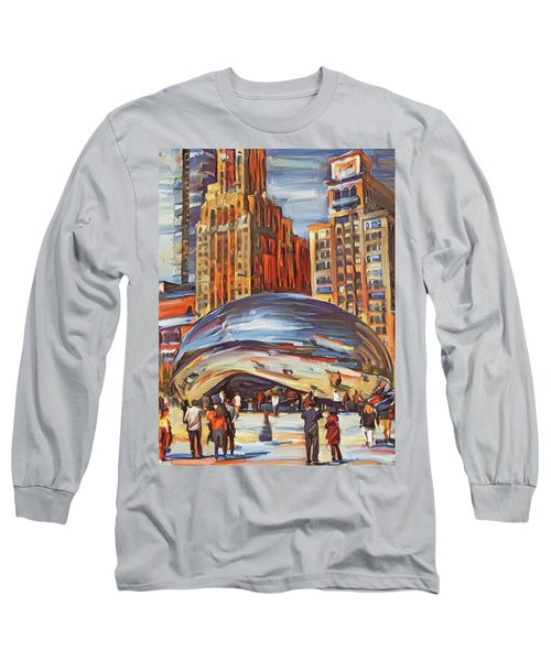 Chicago Millennium 2 Long Sleeve T-Shirt