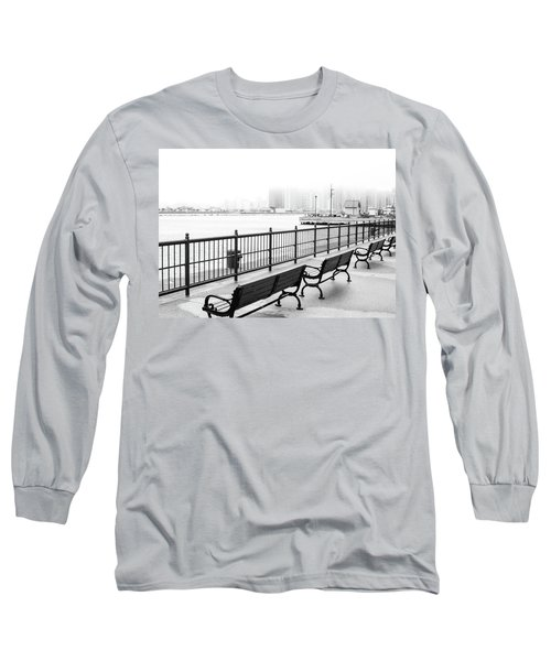 Long Sleeve T-Shirt featuring the photograph Chicago Navy Pier by Dawn Romine