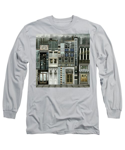 Chicago Reconstruction 1 Long Sleeve T-Shirt by Joan Ladendorf