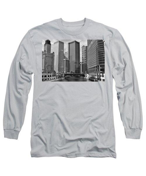 Chicago River Long Sleeve T-Shirt