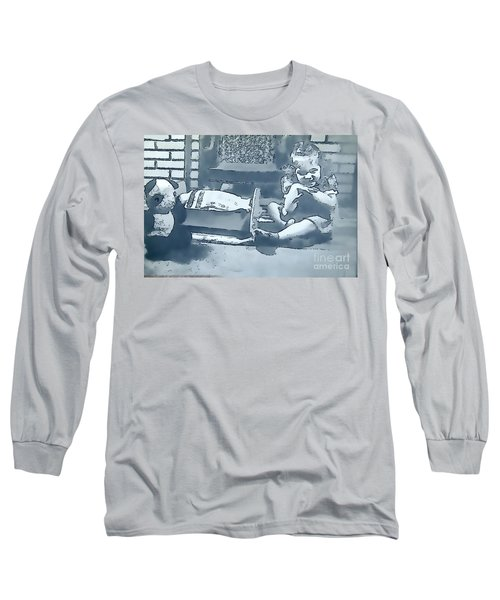 Long Sleeve T-Shirt featuring the photograph Childhood Memories by Linda Phelps