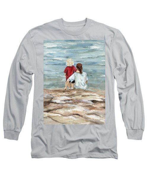 Children By The Sea  Long Sleeve T-Shirt