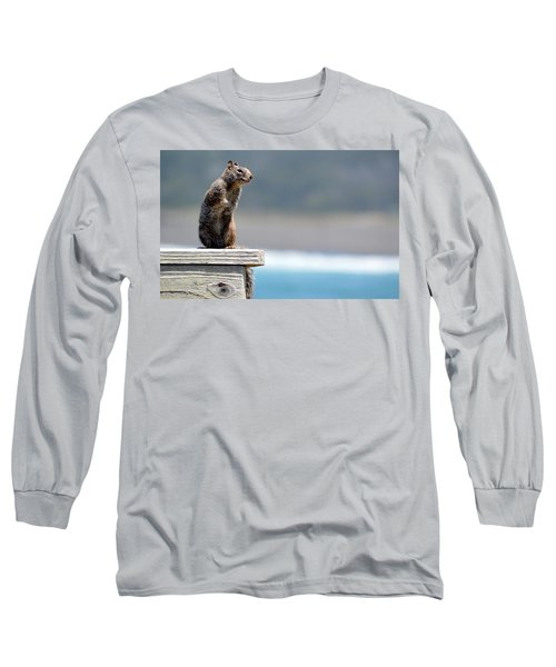 Chilly Squirrel Long Sleeve T-Shirt