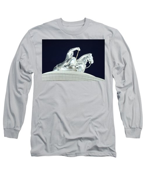 Chinggis Khan/tsagaan Sar Long Sleeve T-Shirt