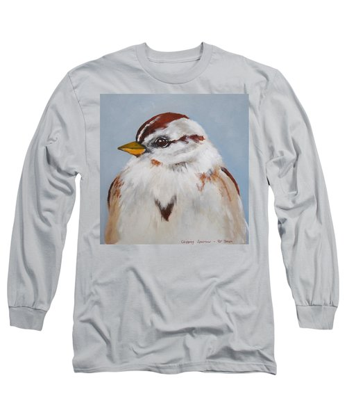 Chipping Sparrow Long Sleeve T-Shirt