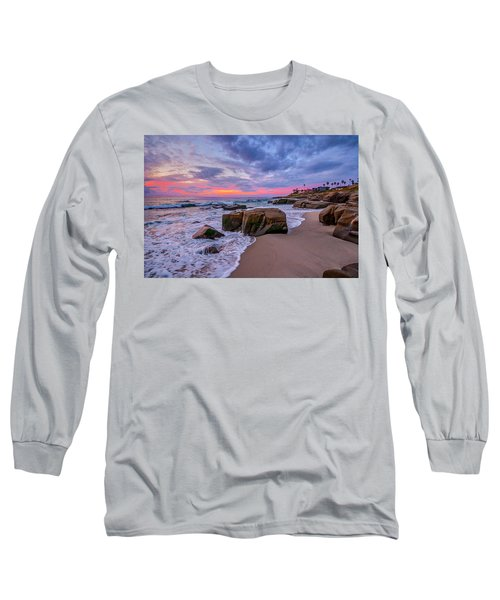 Chris's Rock Long Sleeve T-Shirt by Peter Tellone