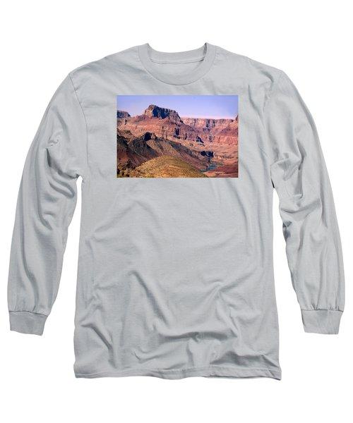 Chuar Butte  Grand Canyon National Park Long Sleeve T-Shirt