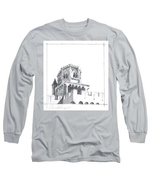 Church At Chamalieres Long Sleeve T-Shirt