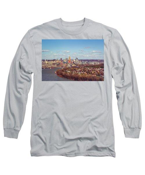 Cincinnati Skyline 2 Long Sleeve T-Shirt
