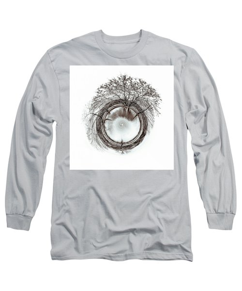 Long Sleeve T-Shirt featuring the photograph Circle Of Trees by Wade Brooks