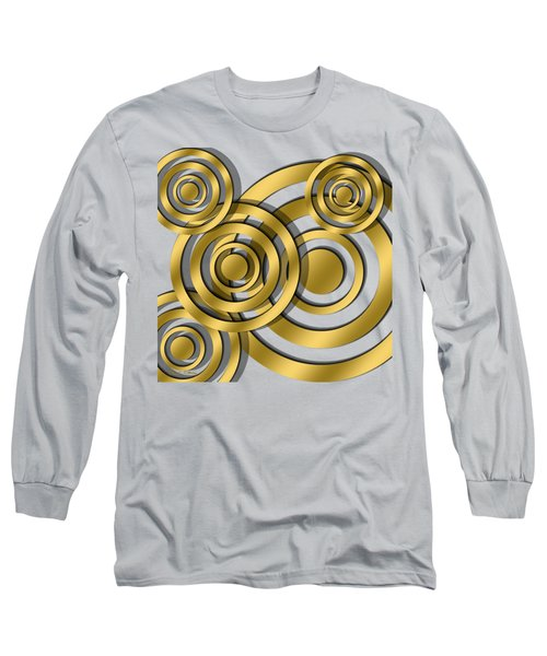 Circles - Transparent Long Sleeve T-Shirt