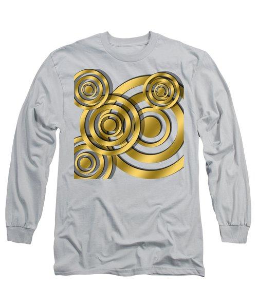 Circles - Transparent Long Sleeve T-Shirt