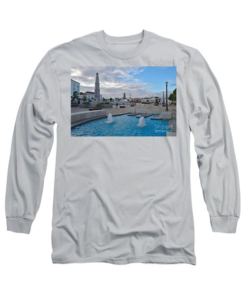 City Center Of Tavira Long Sleeve T-Shirt