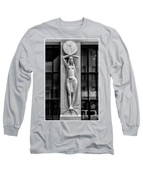City Museum Figure Long Sleeve T-Shirt