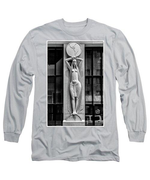 City Museum Figure Long Sleeve T-Shirt