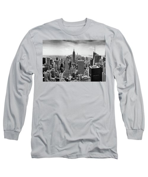 Classic New York  Long Sleeve T-Shirt by Az Jackson