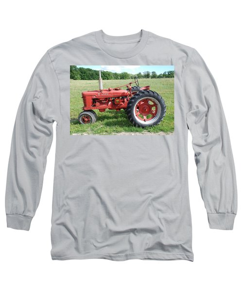 Classic Tractor Long Sleeve T-Shirt by Richard Bryce and Family