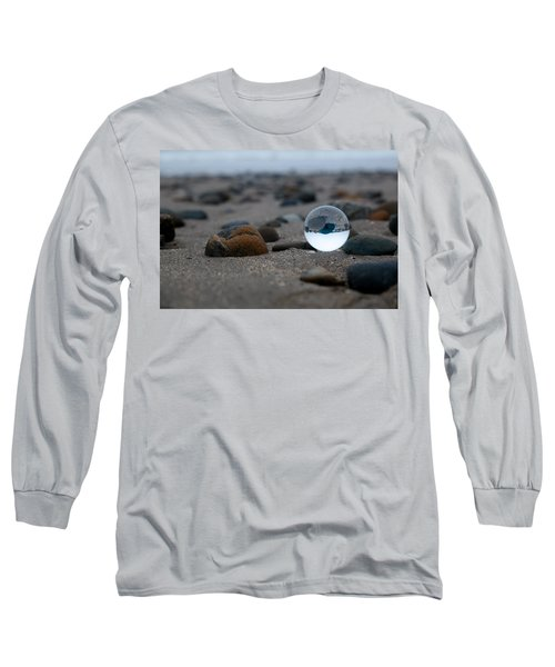 Long Sleeve T-Shirt featuring the photograph Clear Rock by Lora Lee Chapman