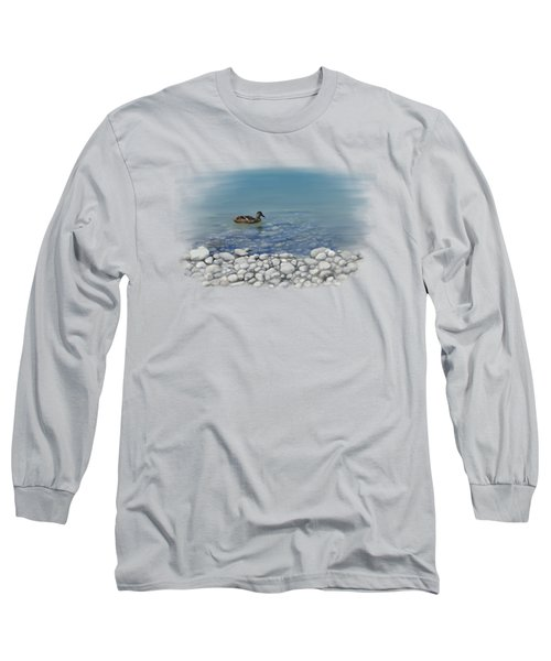 Clear Water  Long Sleeve T-Shirt by Ivana Westin