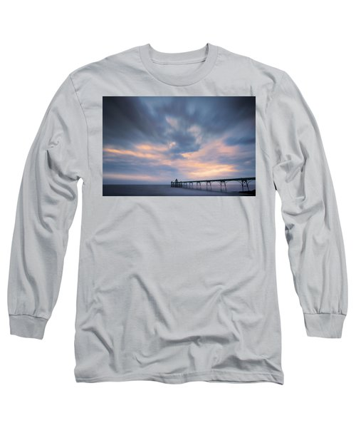 Clevedon Pier Long Sleeve T-Shirt by Dominique Dubied