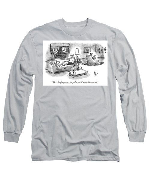 Clinging To Territory Long Sleeve T-Shirt