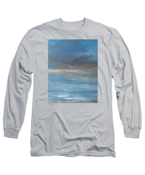 Long Sleeve T-Shirt featuring the painting Close Of Day by Jane See