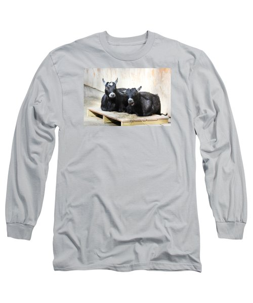 Long Sleeve T-Shirt featuring the photograph Close To You by Trina  Ansel
