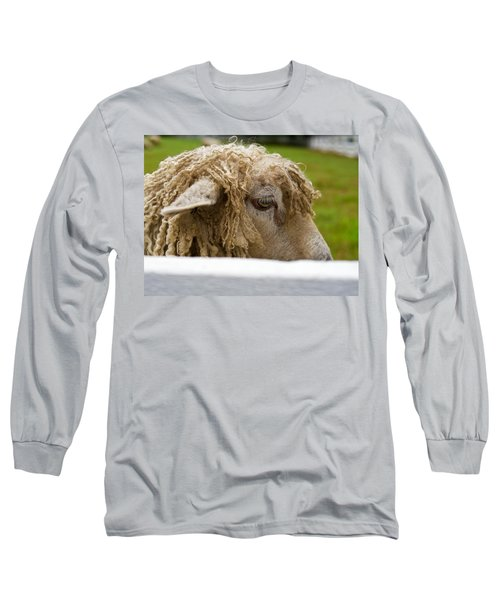 Close-up Of Leicester Longwool Long Sleeve T-Shirt