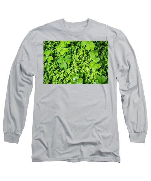 Lush Green Soothing Organic Sense Long Sleeve T-Shirt