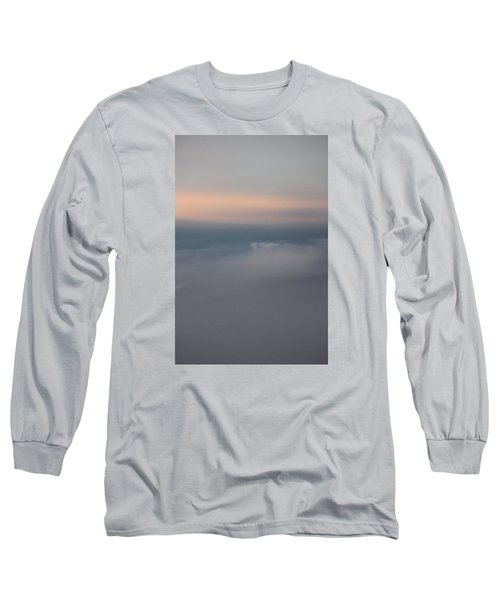 Cloud Abstract II Long Sleeve T-Shirt by Suzanne Gaff