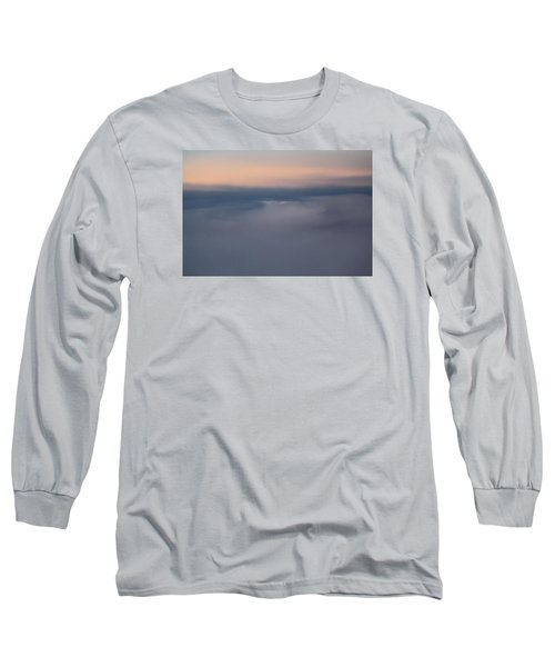 Cloud Abstract  Long Sleeve T-Shirt by Suzanne Gaff