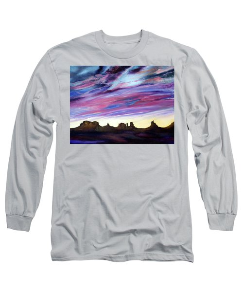 Cloud Movement Long Sleeve T-Shirt