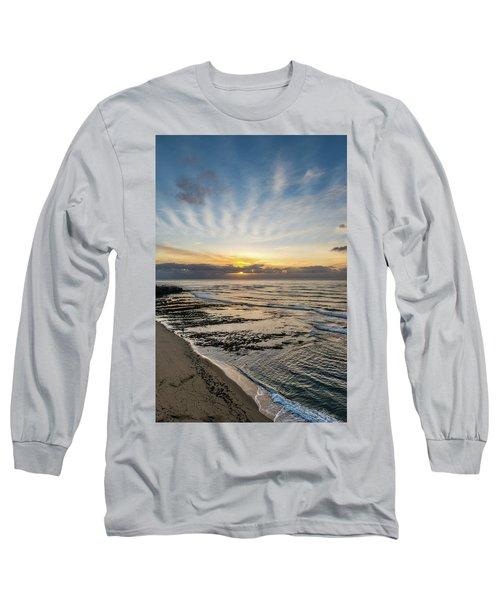 Cloud Rays Vertical Long Sleeve T-Shirt