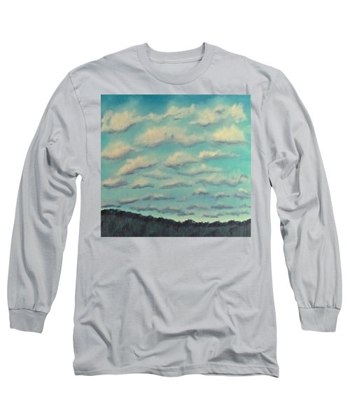 Cloud Study Cropped Image Long Sleeve T-Shirt