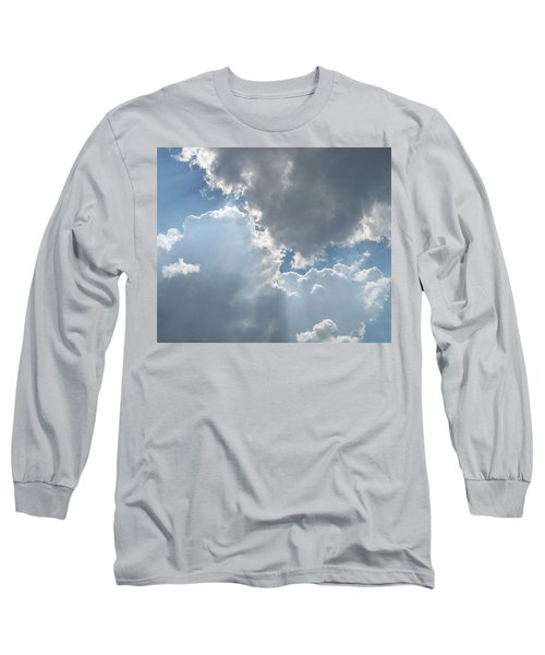 Clouds 1 Long Sleeve T-Shirt by Barbara Yearty
