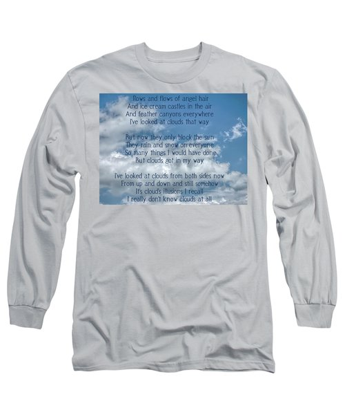 Clouds Illusions Long Sleeve T-Shirt