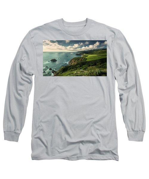 Clouds Over Bixby Bridge Long Sleeve T-Shirt