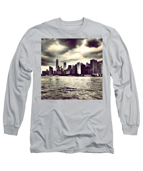 Cloudy Day In #nyc Long Sleeve T-Shirt