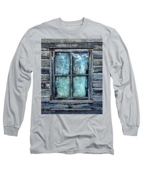Cloudy Window Long Sleeve T-Shirt