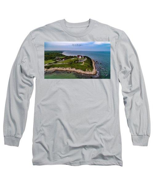 Coastal Nobska Point Lighthouse Long Sleeve T-Shirt